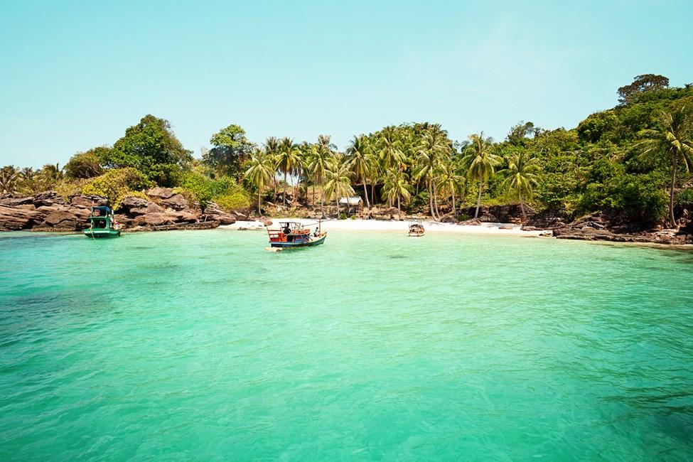 Øya An Thoi – perfekt for snorkling