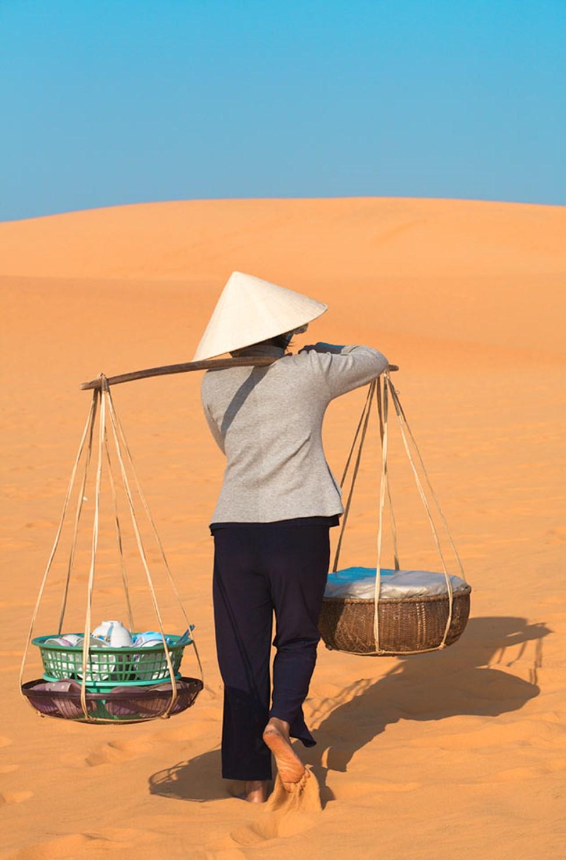 Røde sanddyner, Mui Ne