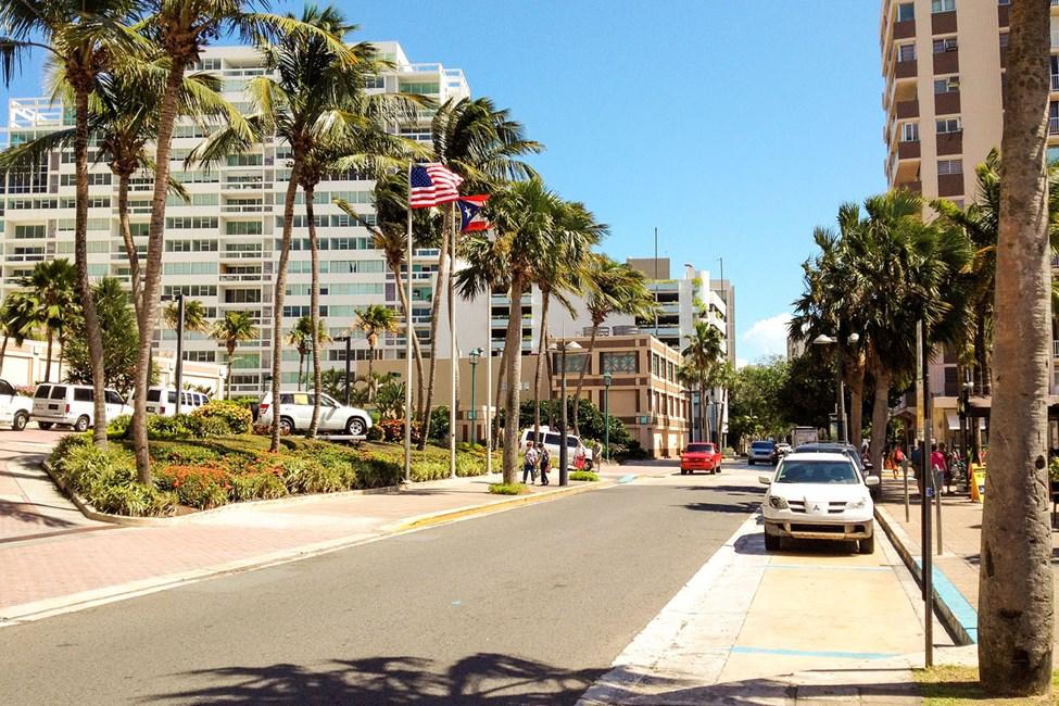 Den moderne delen av San Juan