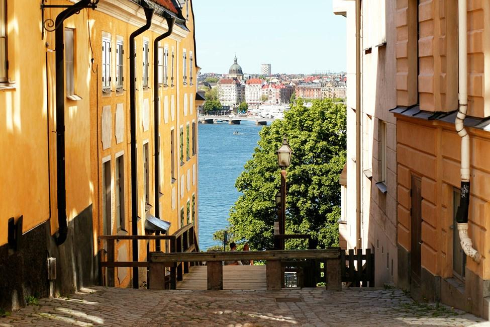 Gaten Katarina kyrkobacke, Södermalm