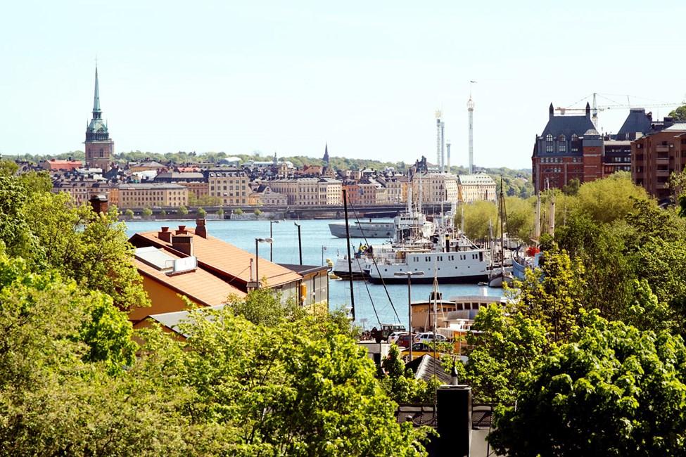 Utsikt fra Västerbron