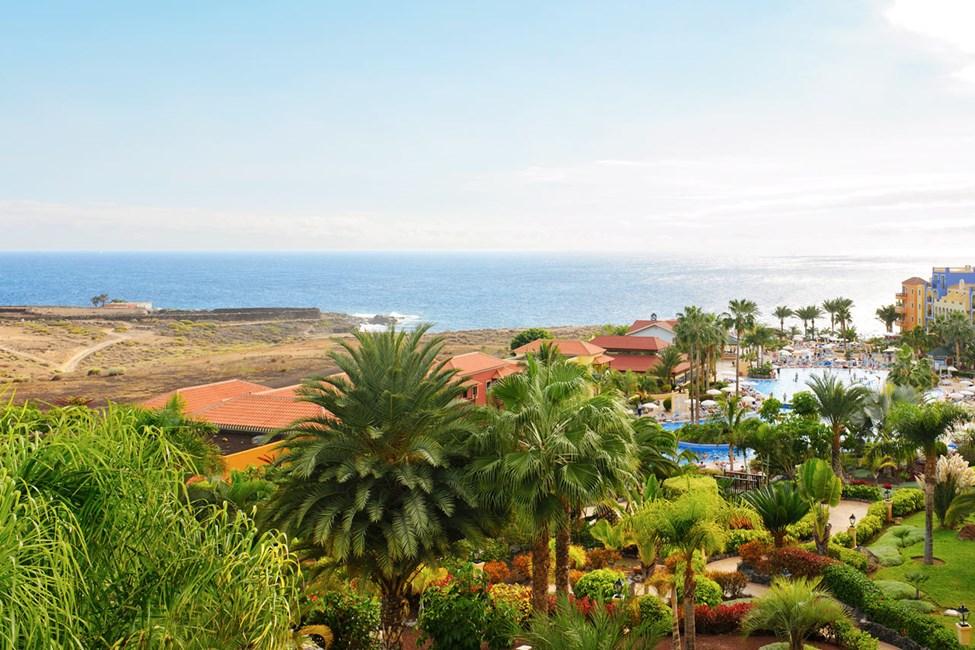Playa Paraiso ligger på vestkysten av Tenerife