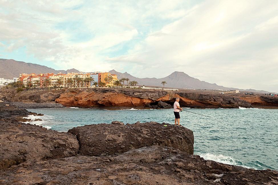 Klippekysten ved Playa Paraiso