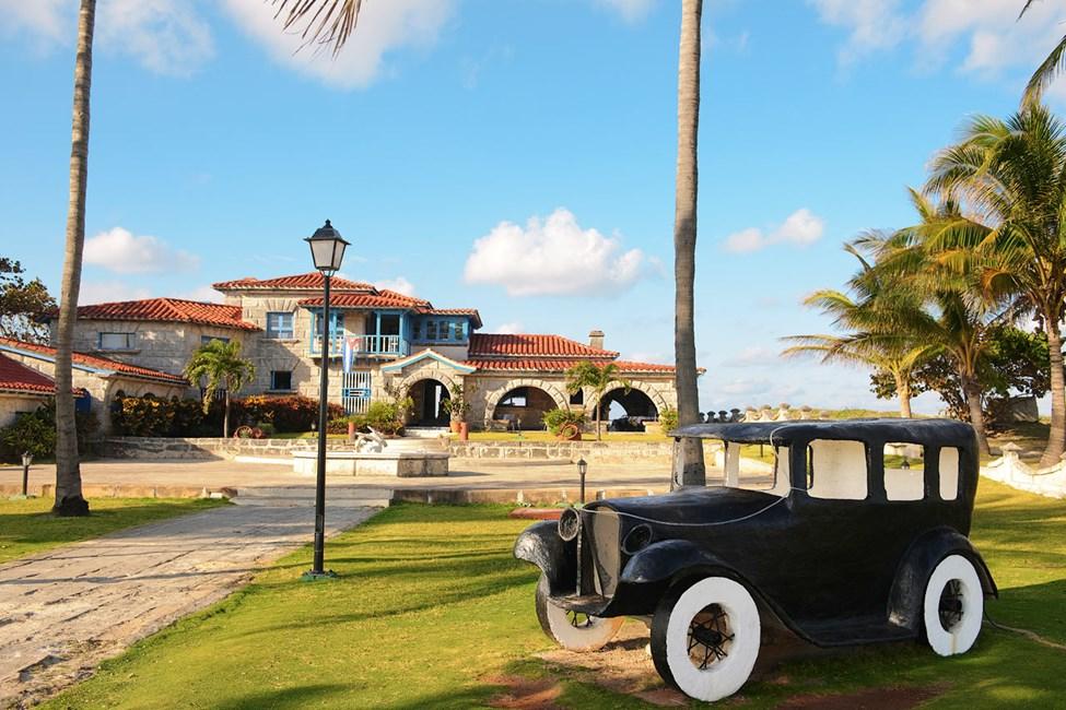 Fiskerestauranten Casa de Al. Eventuelt Al Caponens hus 1928-1929