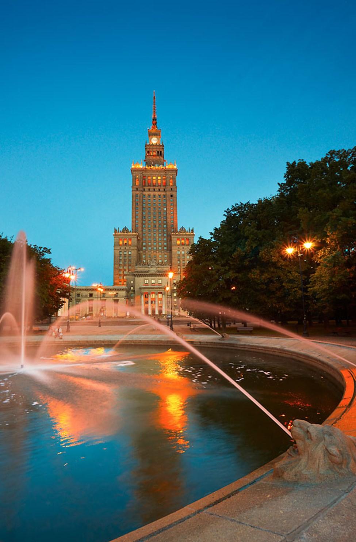 Kulturpalasset i Warszawa