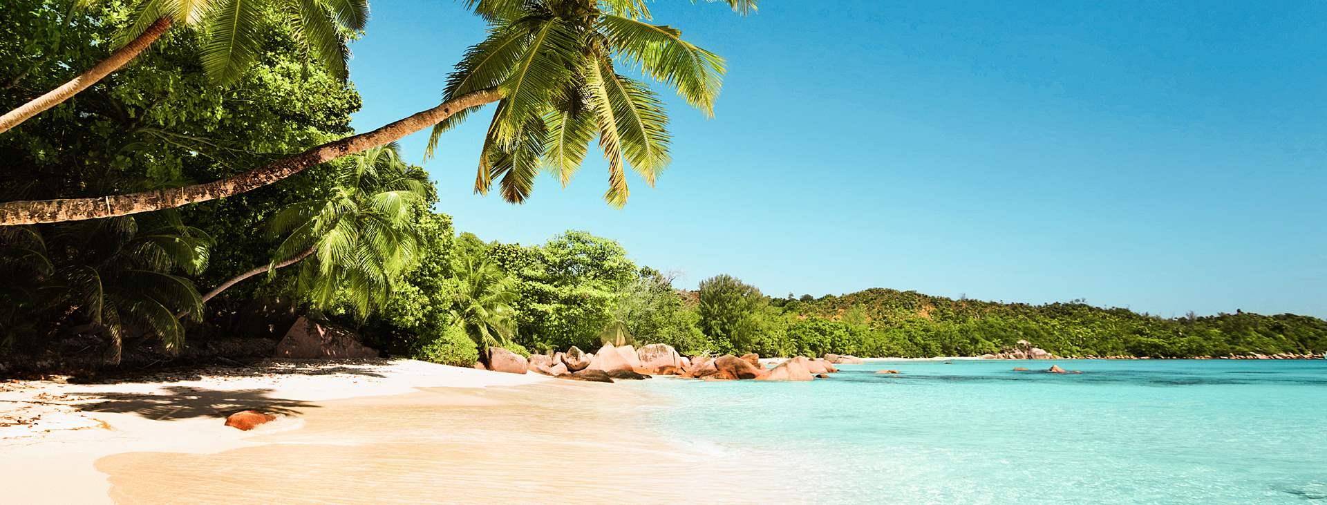 Bestill en reise med Ving til Praslin på Seychellene