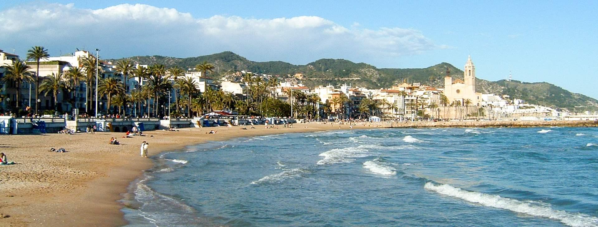 Reiser til Sitges på Costa Dorada i Spania