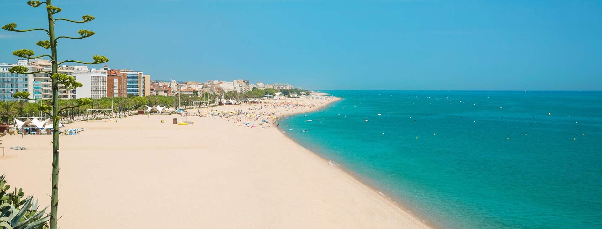 Reiser til Calella på Costa Brava i Spania