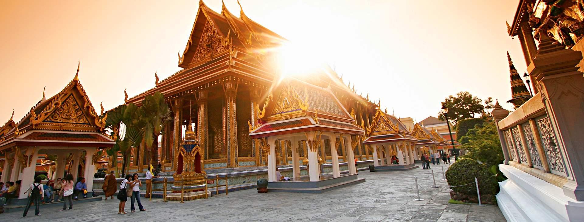 Reiser til Bangkok i Thailand