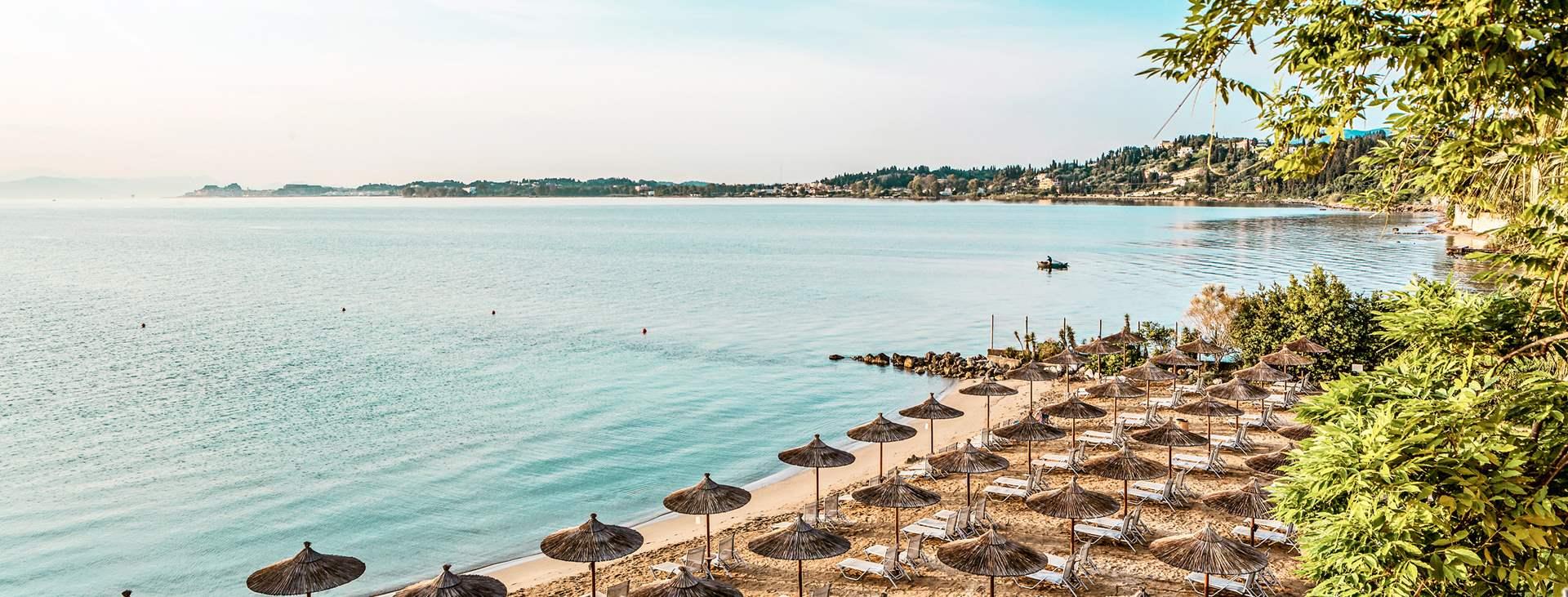 Bestill en reise med Ving til Gouvia på Korfu