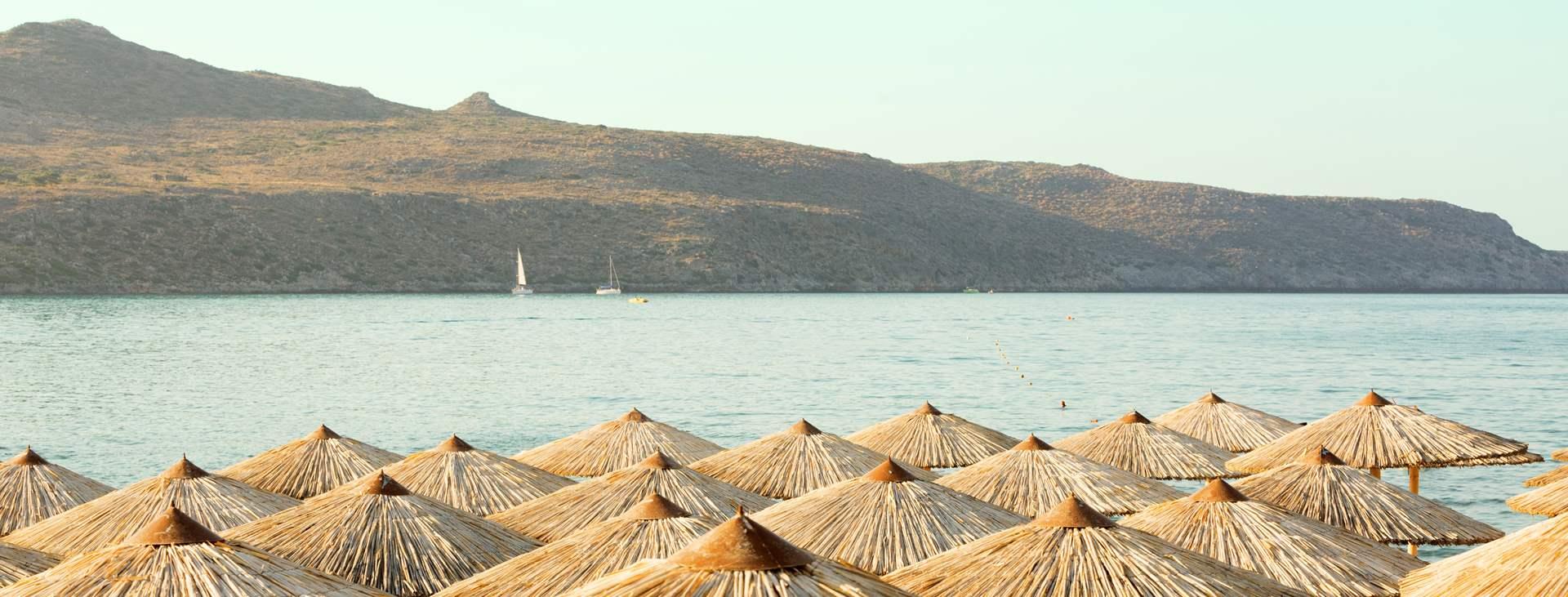 Bestill en reise til barnevennlige Agia Marina på Kreta