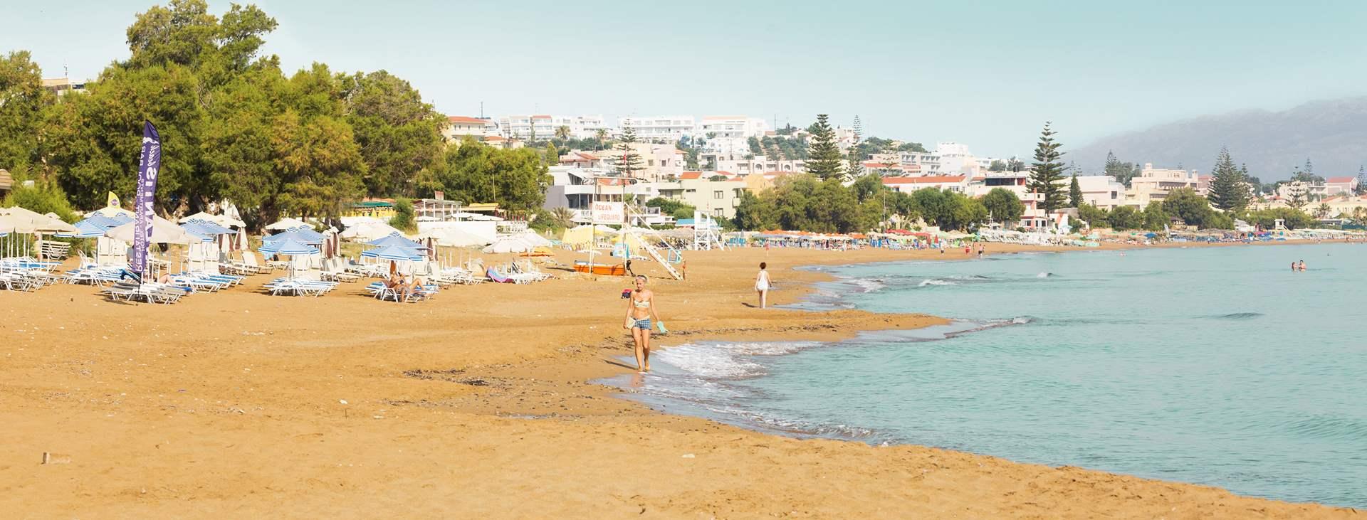 Reiser til Kato Stalos og Kalamaki på Kreta