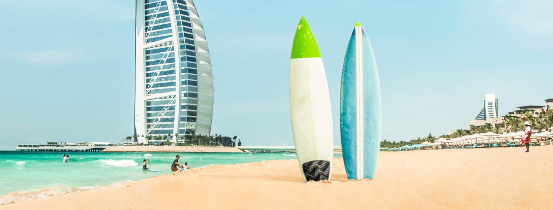 Bestill en reise med Ving til strandparadiset i Dubai – Jumeirah Beach