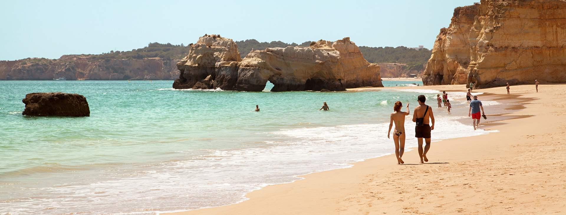 Reiser til Praia da Rocha i Portugal