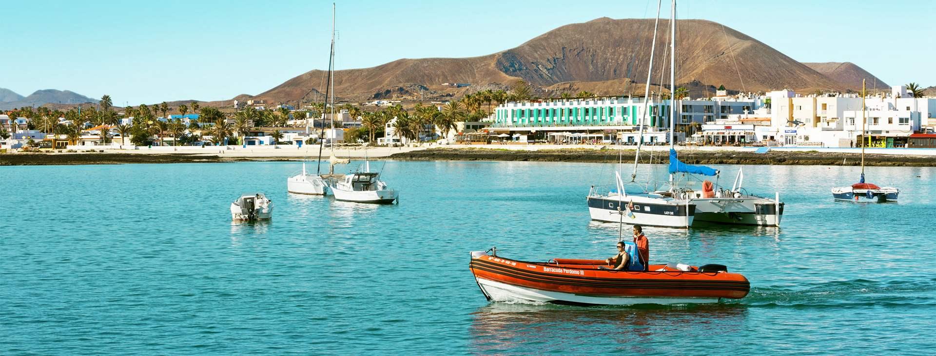 Bestill en reise med All Inclusive til Corralejo på Fuerteventura