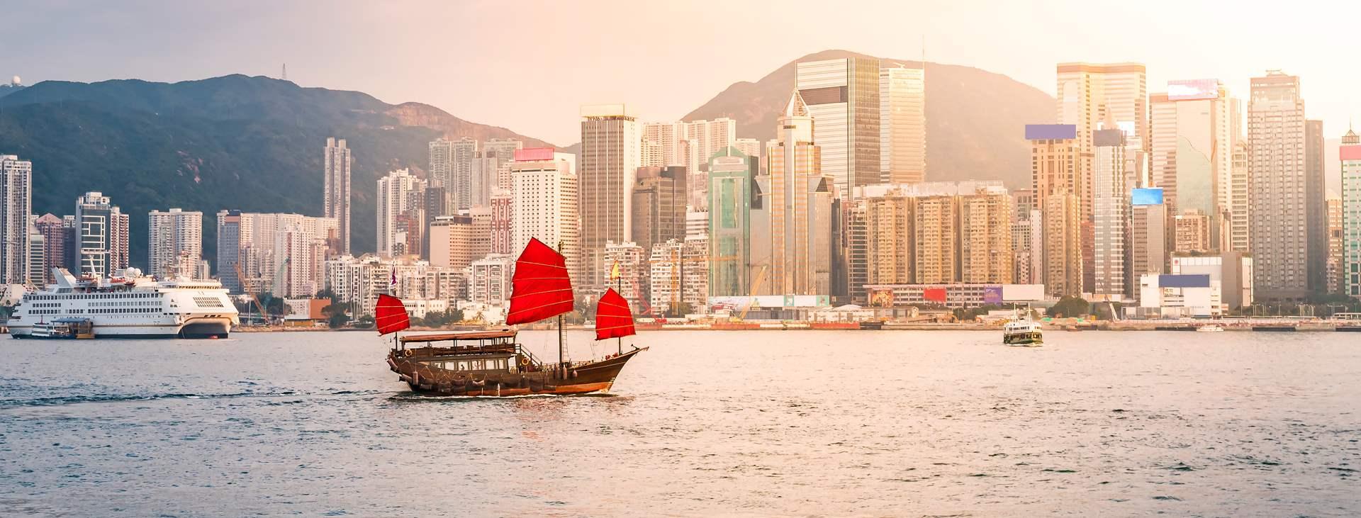 Bestill en reise med Ving til Hong Kong