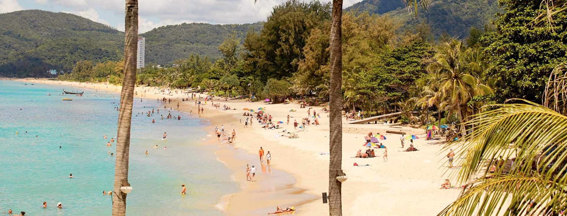 Reiser til Karon Beach i Thailand