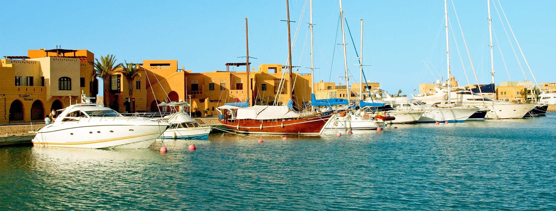 Spill golf i Egypt – bestill en reise til El Gouna