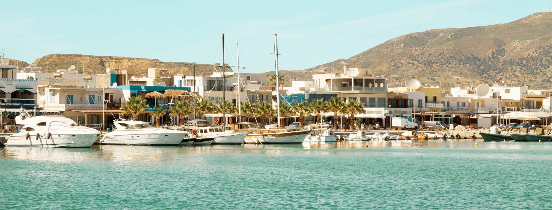 Bestill en reise med Ving til Kardamena på den greske øya Kos