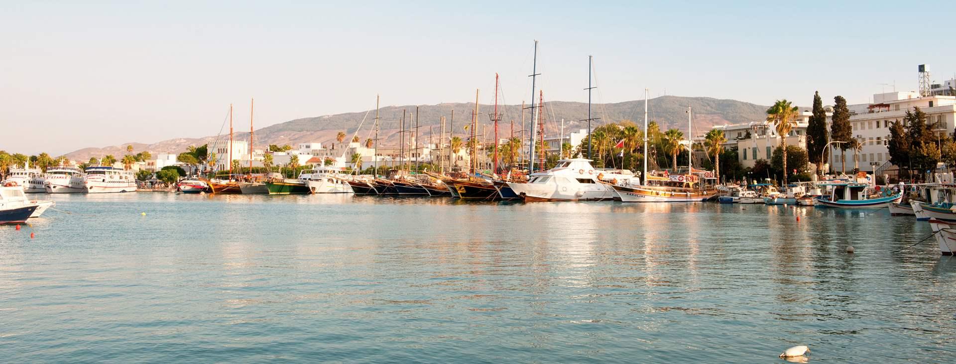 Bestill en reise med Ving til Kos by på den greske øya Kos