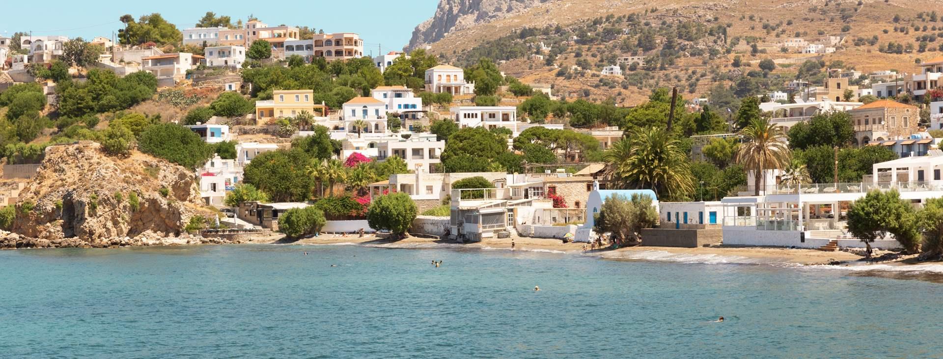 Bestill en reise med Ving til Kantouni på den greske øya Kalymnos