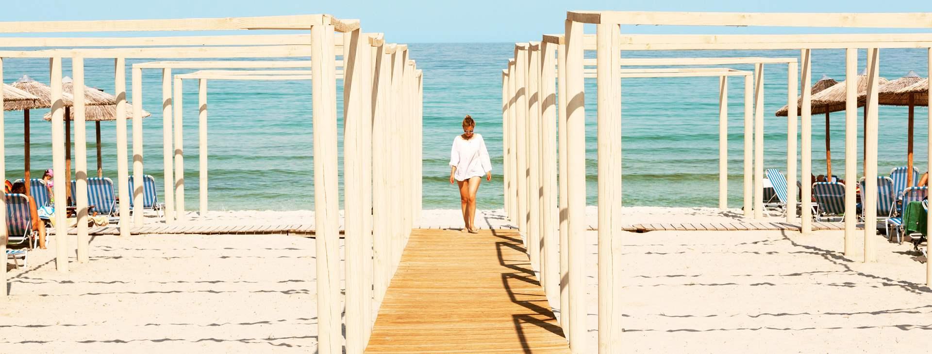 Bestill en reise til Golden Beach på Thassos med Ving