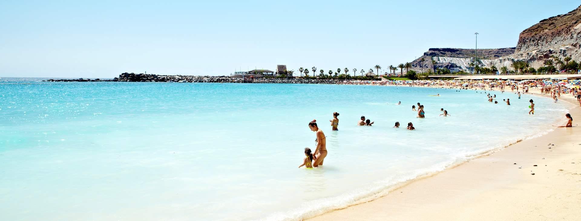 Bestill en reise med All Inclusive til Playa de Amadores på Gran Canaria