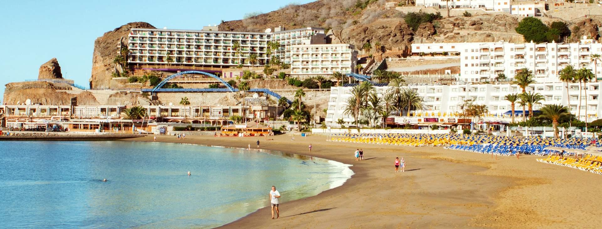 Bestill en reise til barnevennlige Puerto Rico på Gran Canaria
