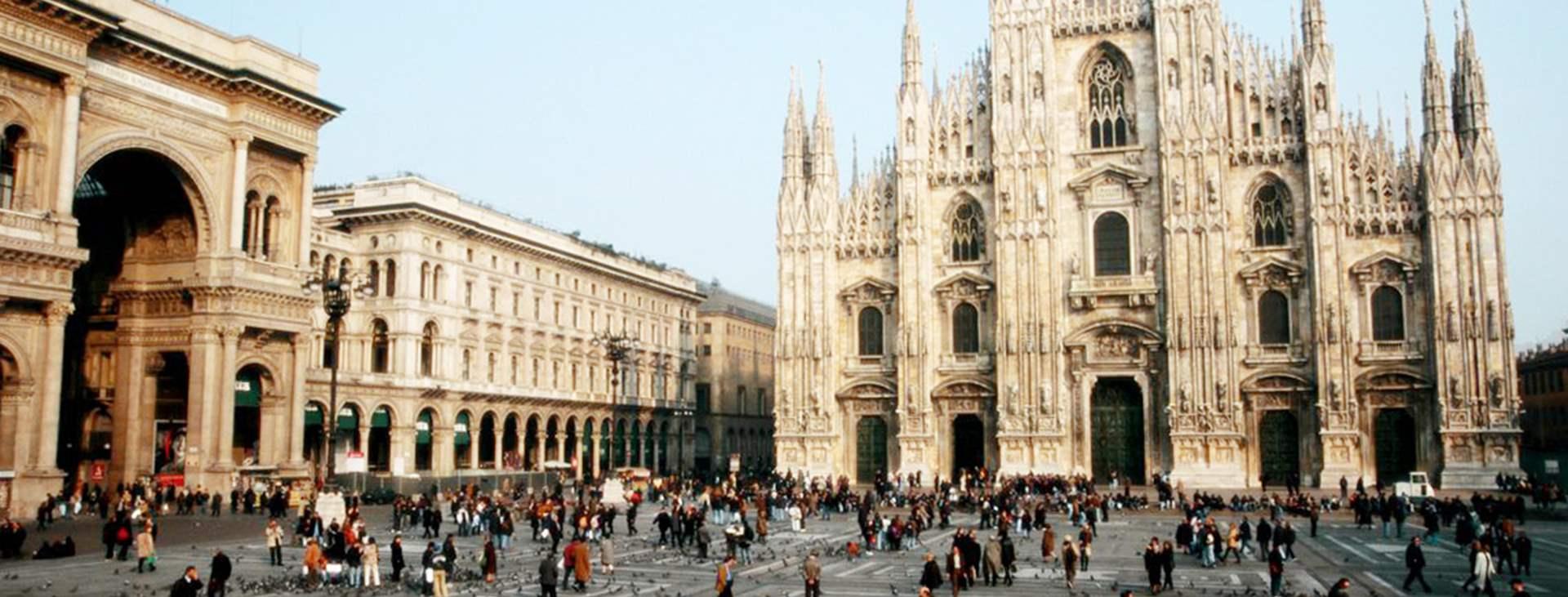 Bestill en reise med Ving til Milano i Italia