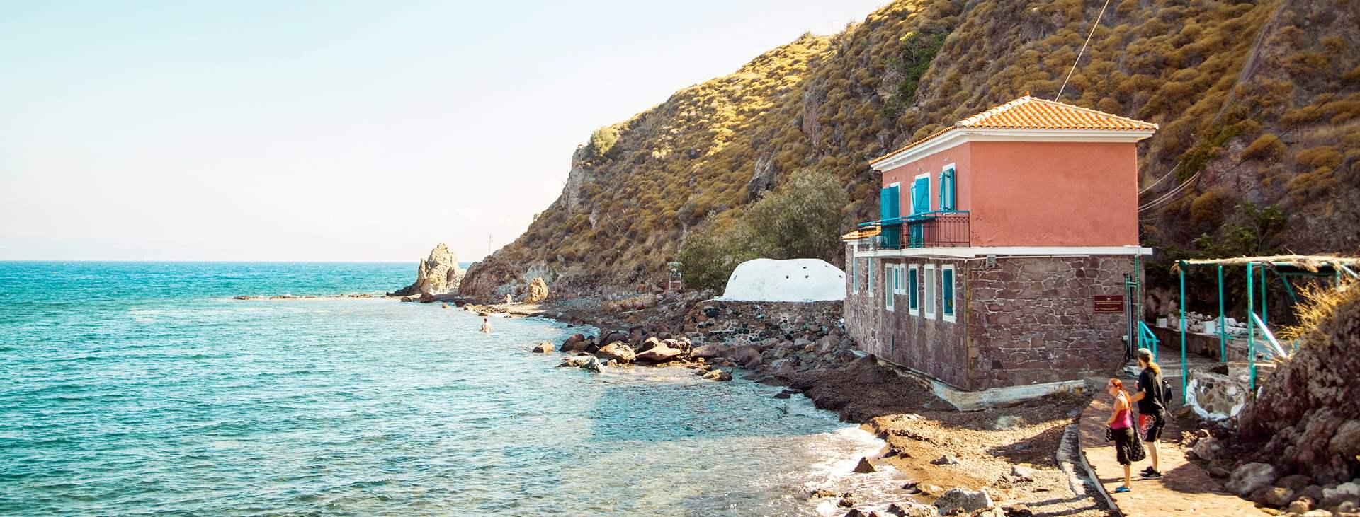 Reis til Eftalou på den greske øya Lesvos