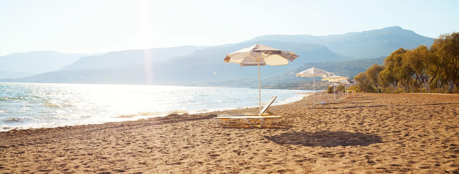 Reiser til Skala Kallonis på den greske øya Lesvos