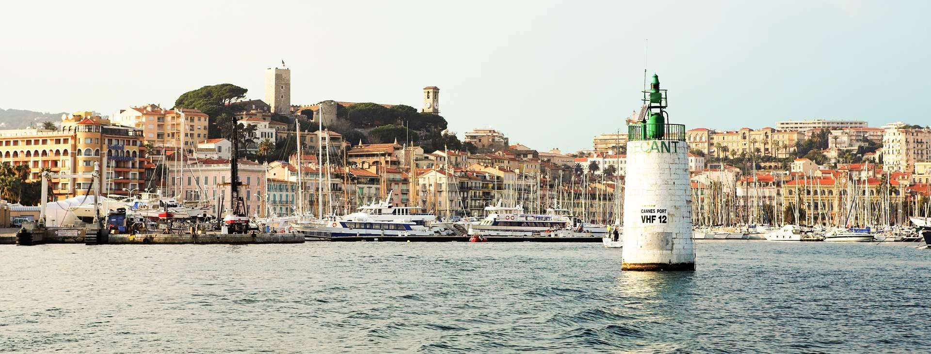 Bestill en reise til Cannes i Frankrike