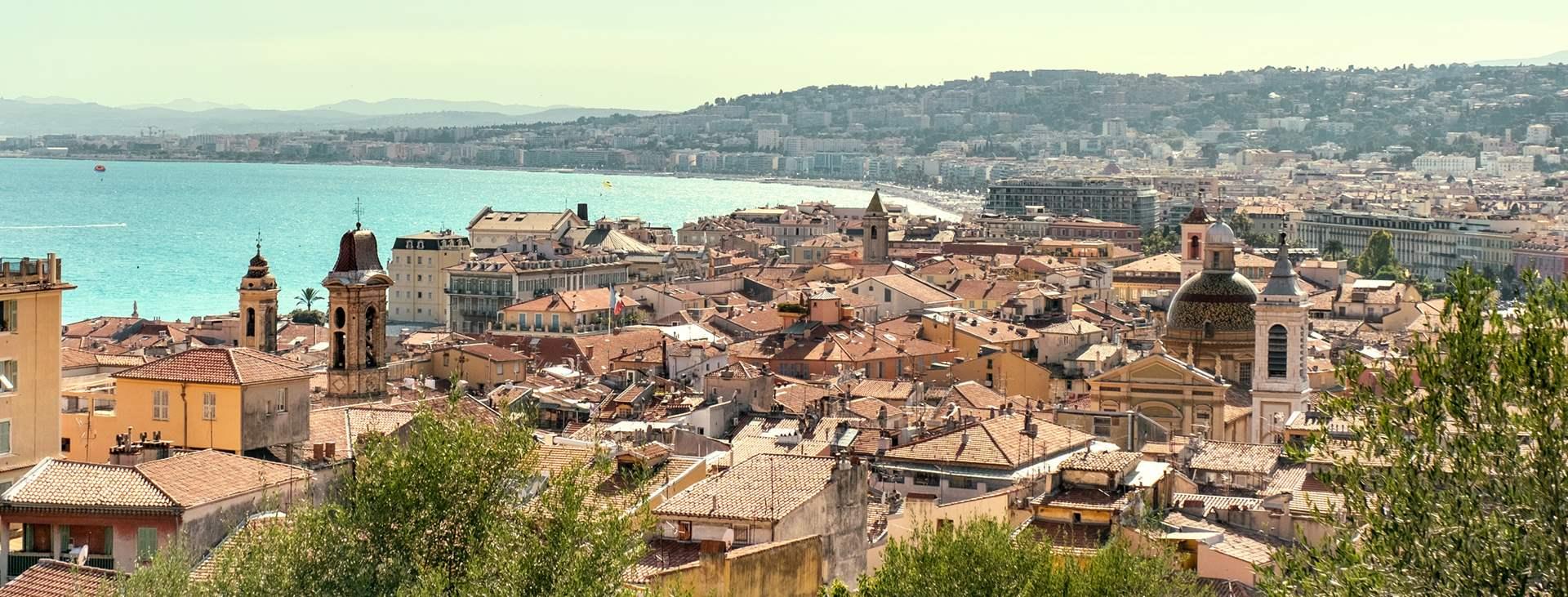 Reiser til Nice på Den franske riviera