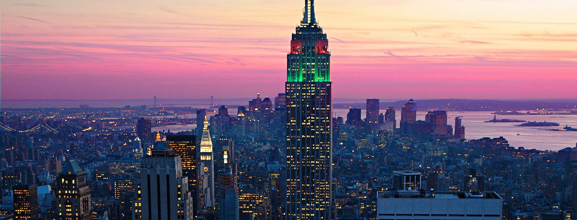 Bestill en reise med Ving til New York i USA