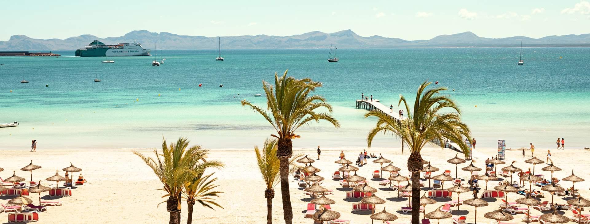 Bestill en reise til barnevennlige Alcudia på Mallorca med Ving