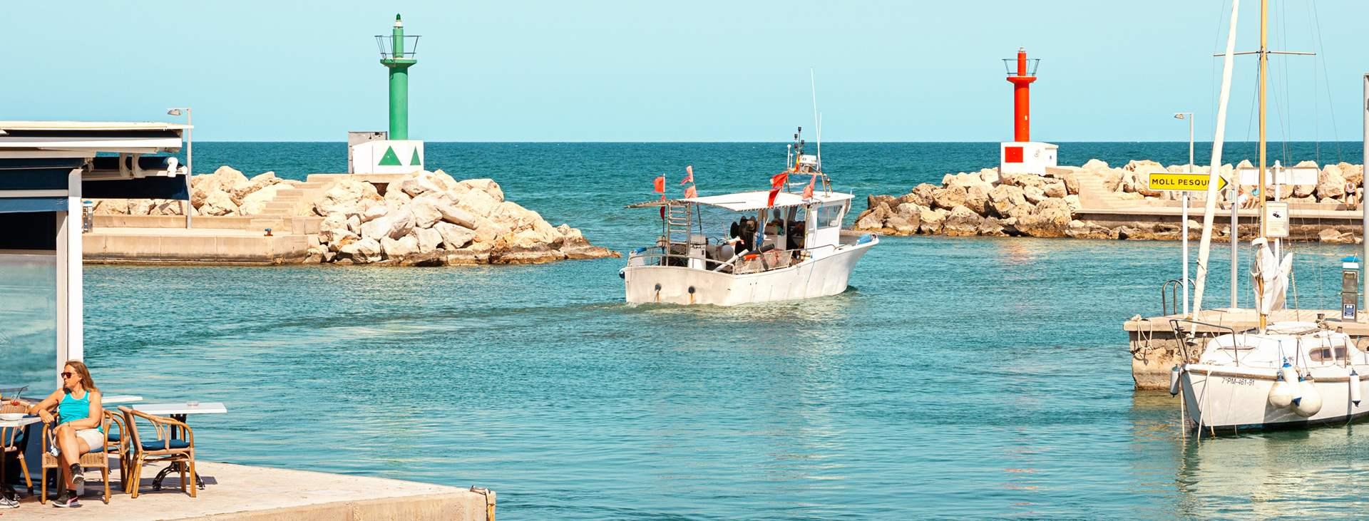 Bestill en reise med All Inclusive til Cala Bona på Mallorca