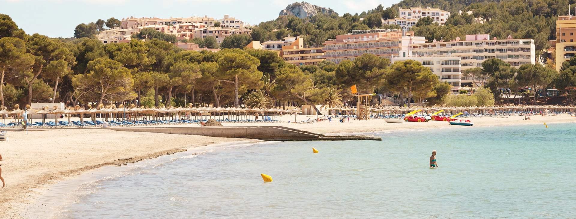 Bestill en reise med All Inclusive til Santa Ponsa på Mallorca