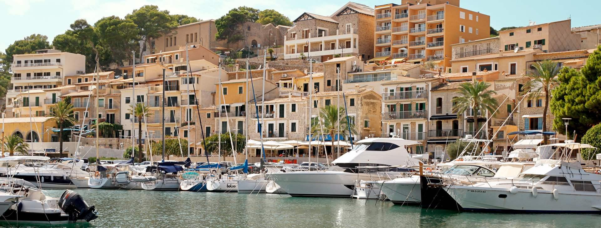 Bestill en reise med Ving til Puerto de Sóller på Mallorca