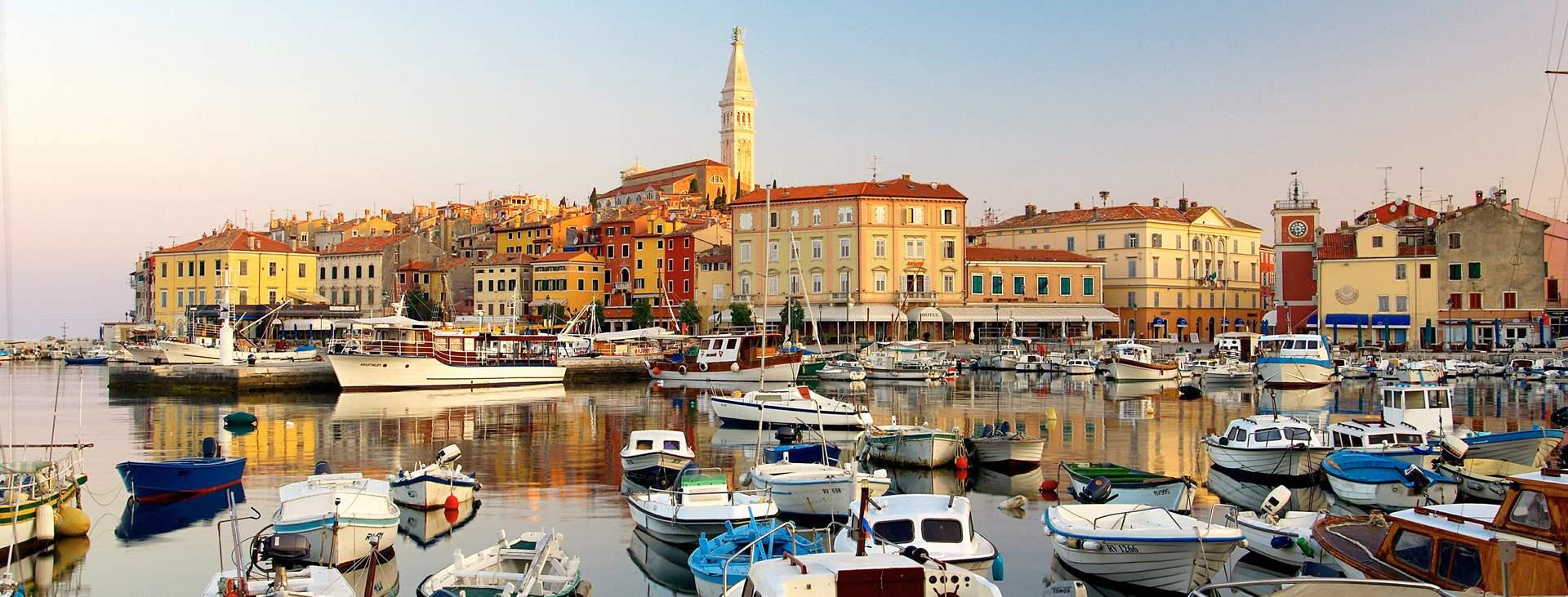 Reiser til Rovinj på Istria i Kroatia