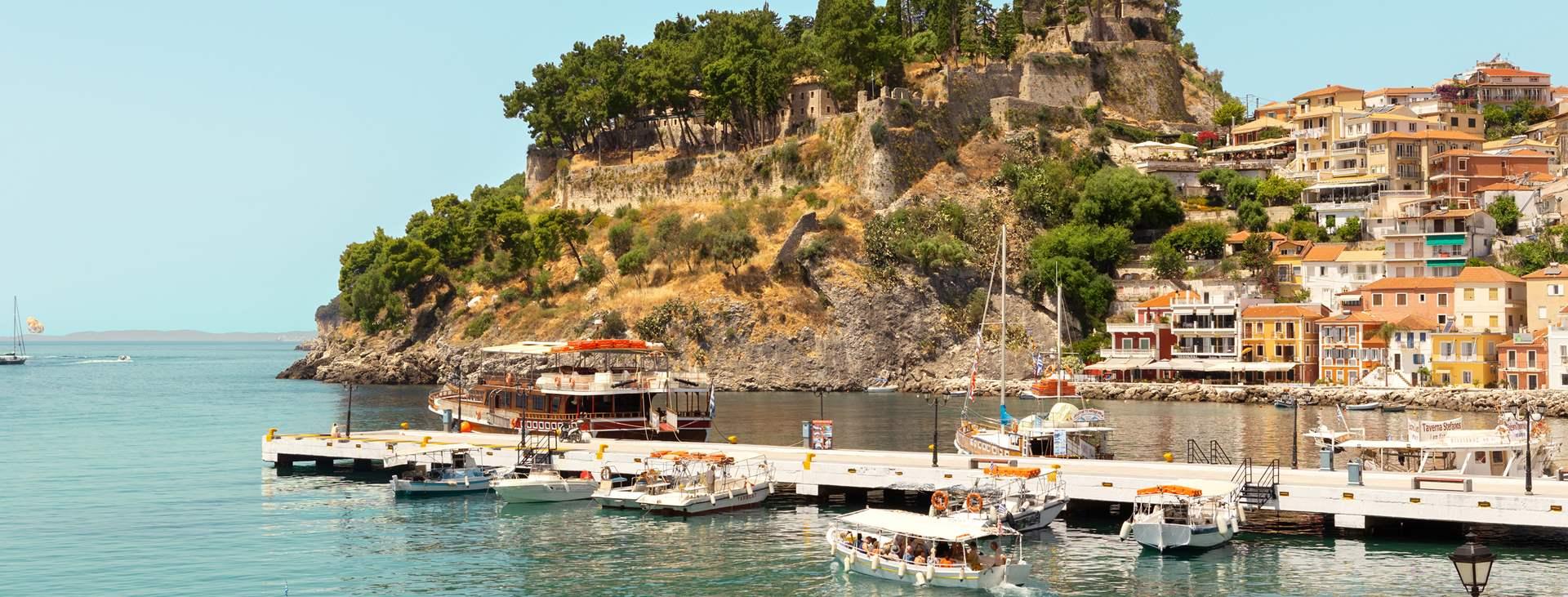 Bestill en reise med Ving til Parga på den greske vestkysten