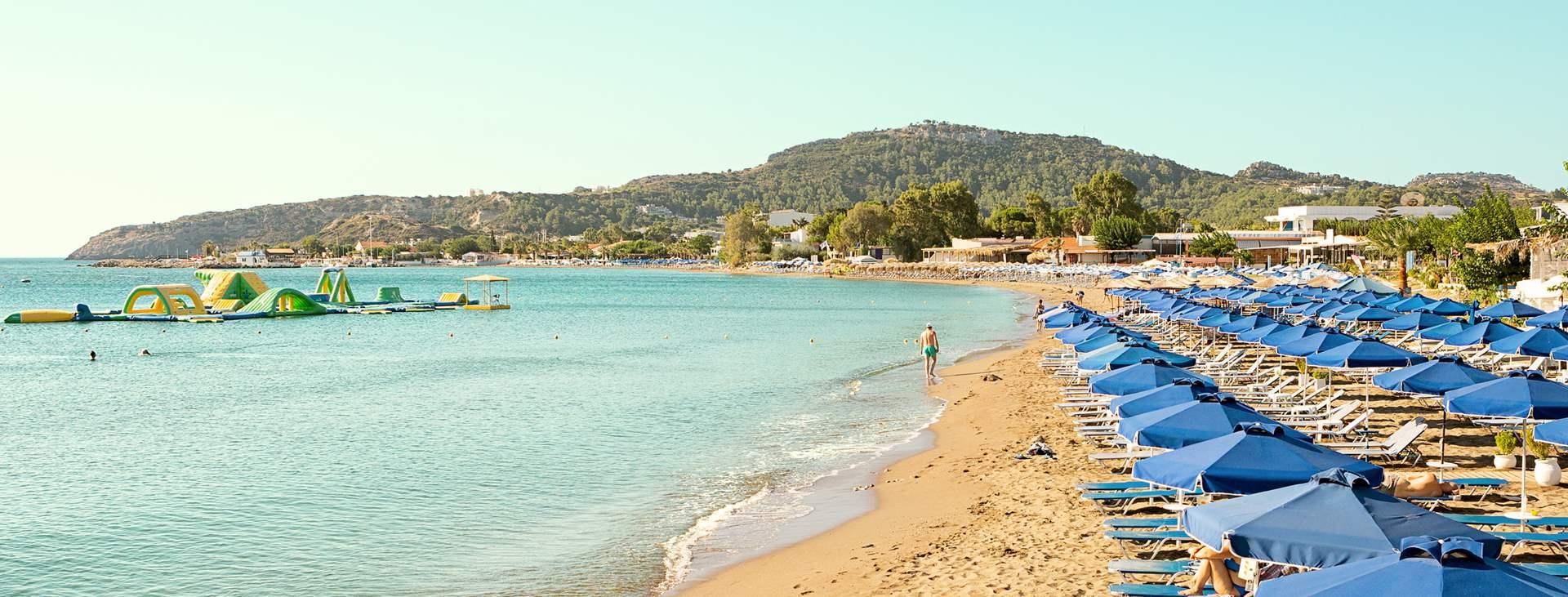 Bestill en reise med Ving til Faliraki på Rhodos