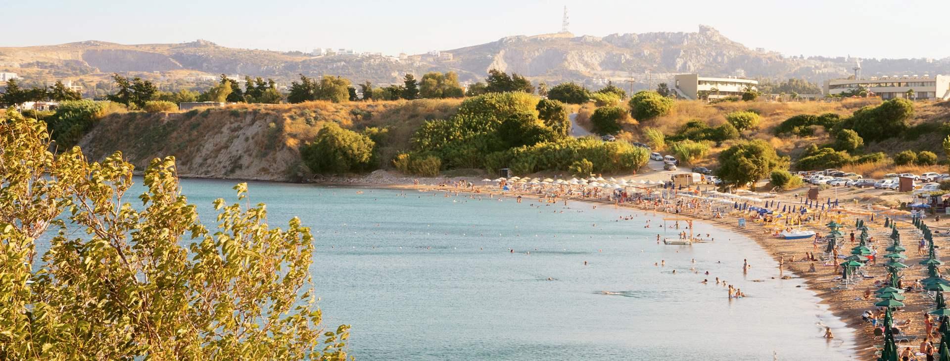 Bestill en reise med All Inclusive til Kallithea på Rhodos