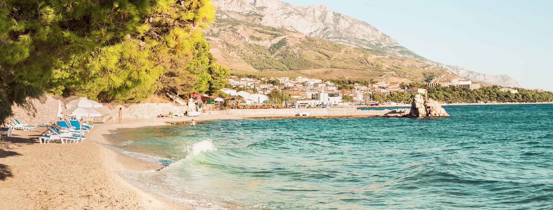 Bestill en reise til Brela på Makarska-rivieraen med Ving