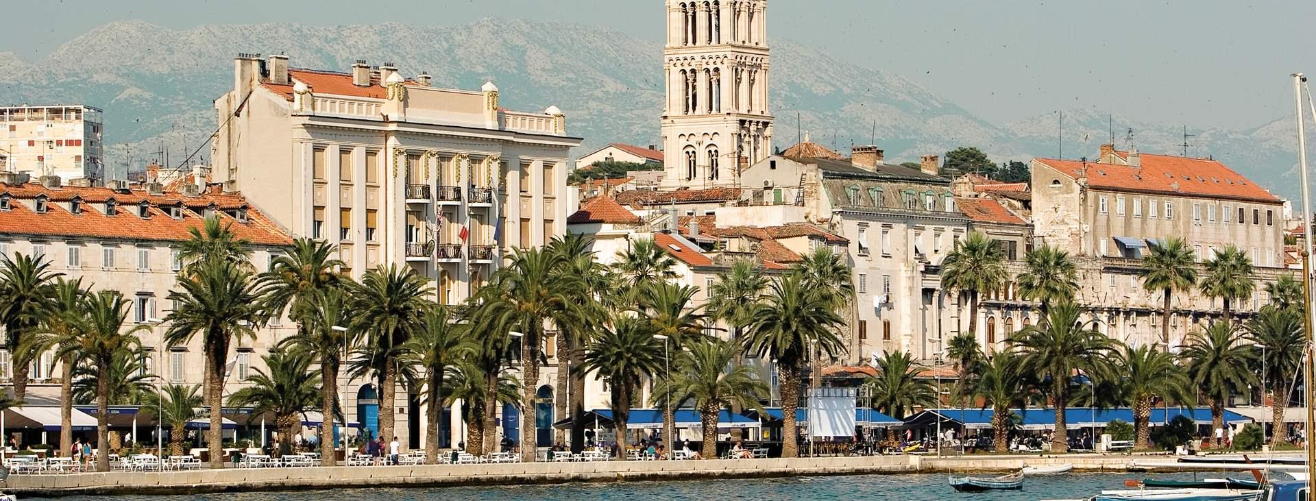 Bestill en reise med Ving til Split i Kroatia
