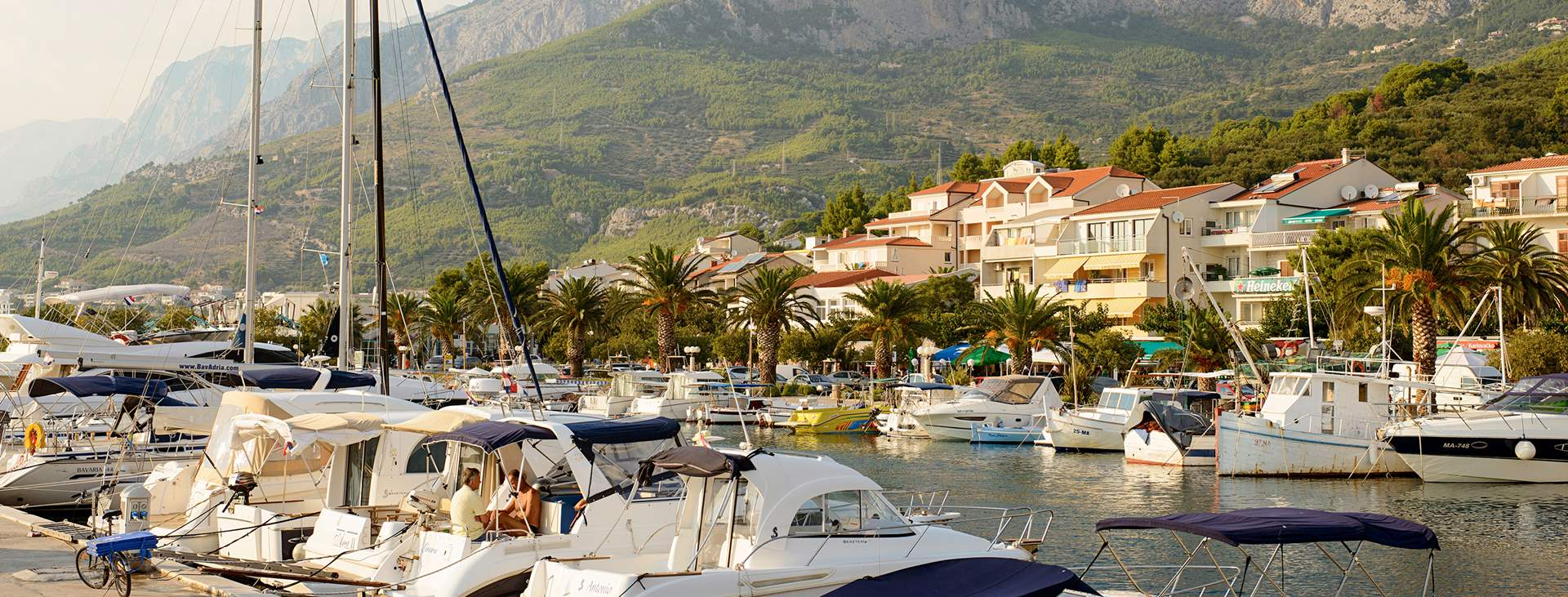 Reiser til Tupeci på Makarska-rivieraen i Kroatia