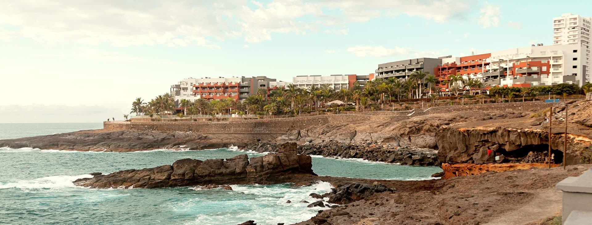 Bestill en reise til barnevennlige Playa Paraiso på Tenerife