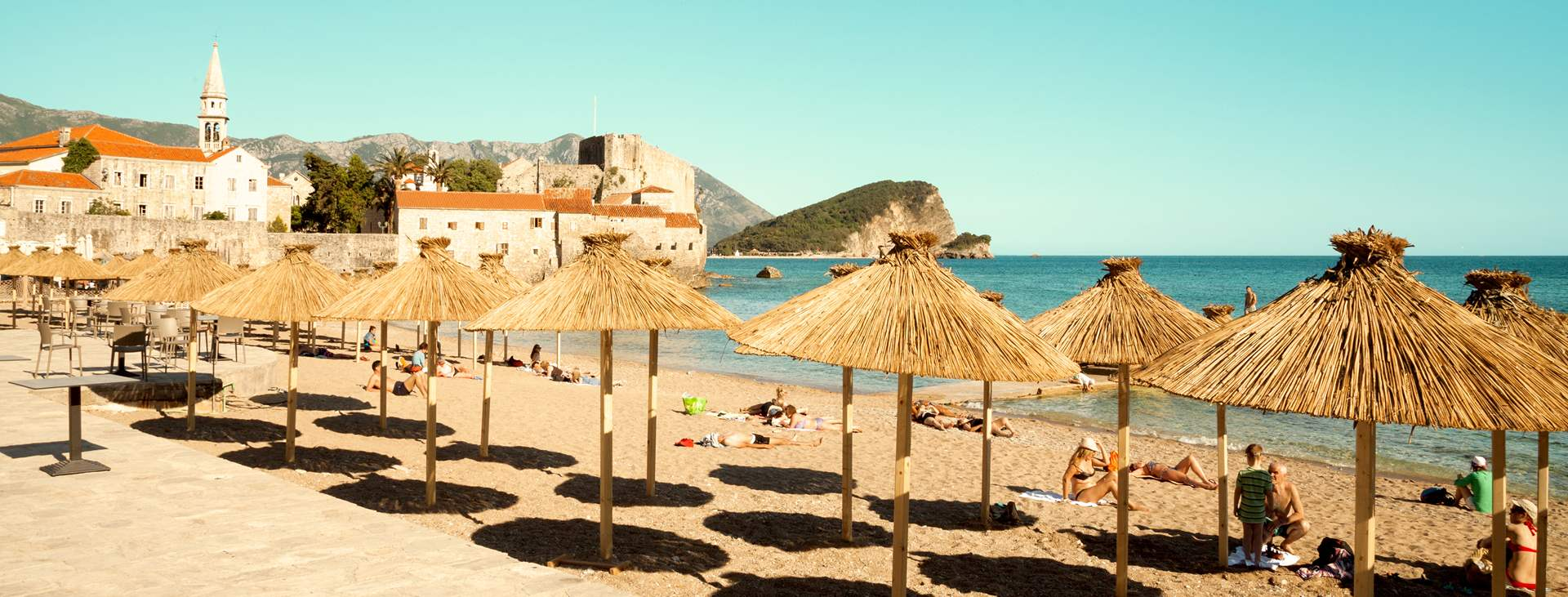Bestill en reise til Budva i Montenegro med Ving