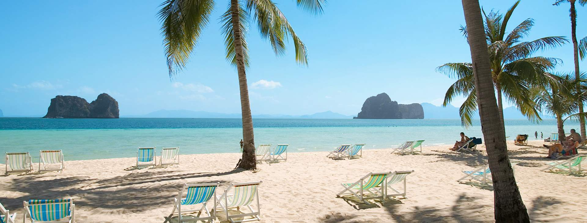 Bestill en reise med Ving til vakre Koh Ngai i Thailand