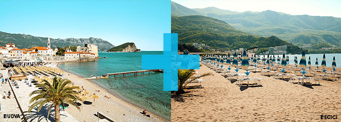 Kombinasjonsreiser i Montenegro