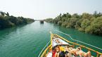 Manavgat, båttur og basar – kan bestilles hjemmefra
